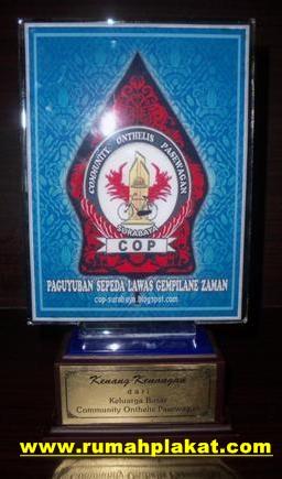 pusat plakat acrylic, buat plakat surabaya, plakat resin malang, 0812.3365.6355, www.rumahplakat.com