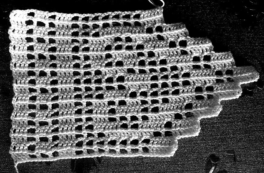 mallorca handmade visillos de ganchillo crochet