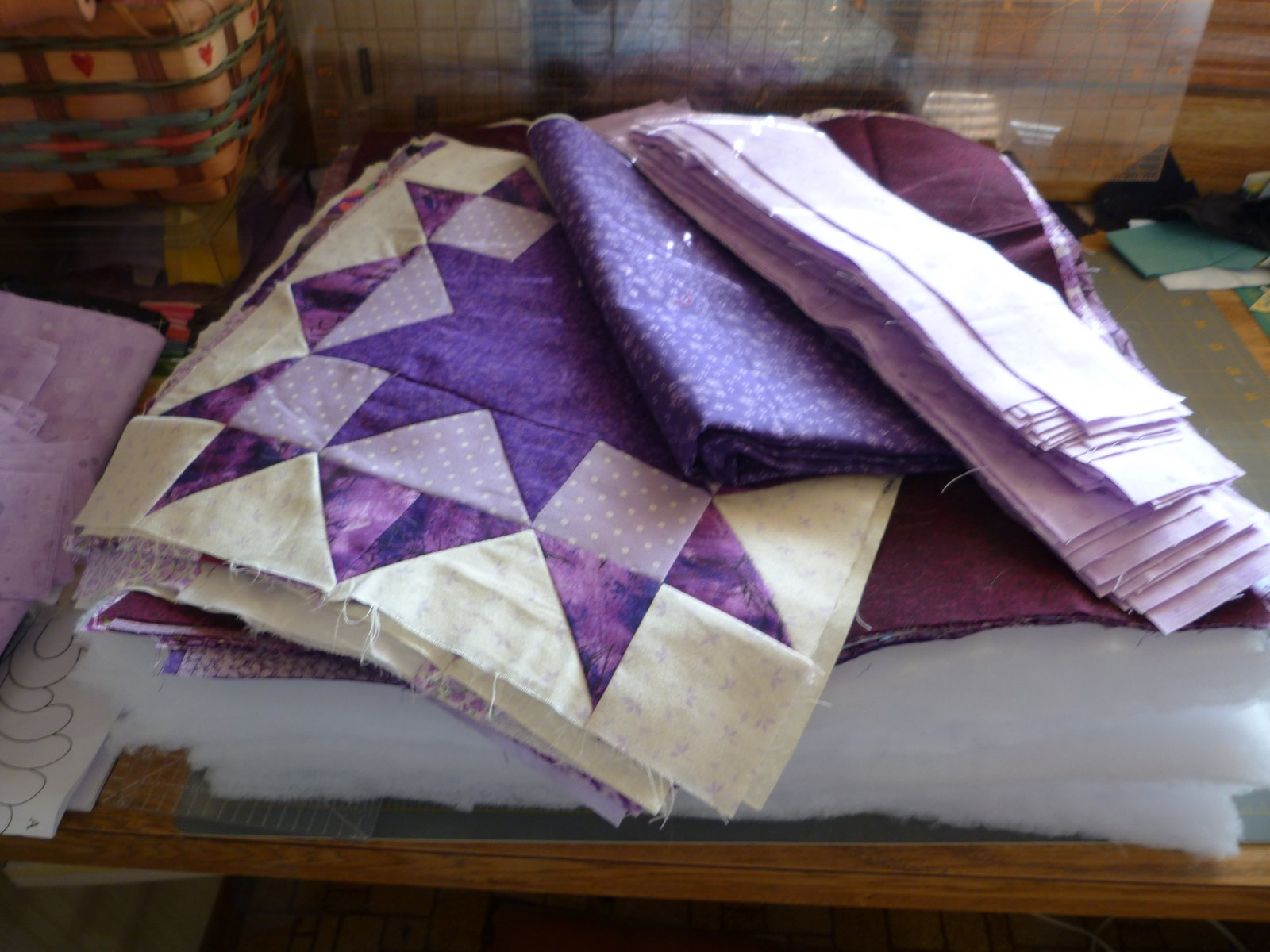 chmusings: Periwinkle quilt blocks