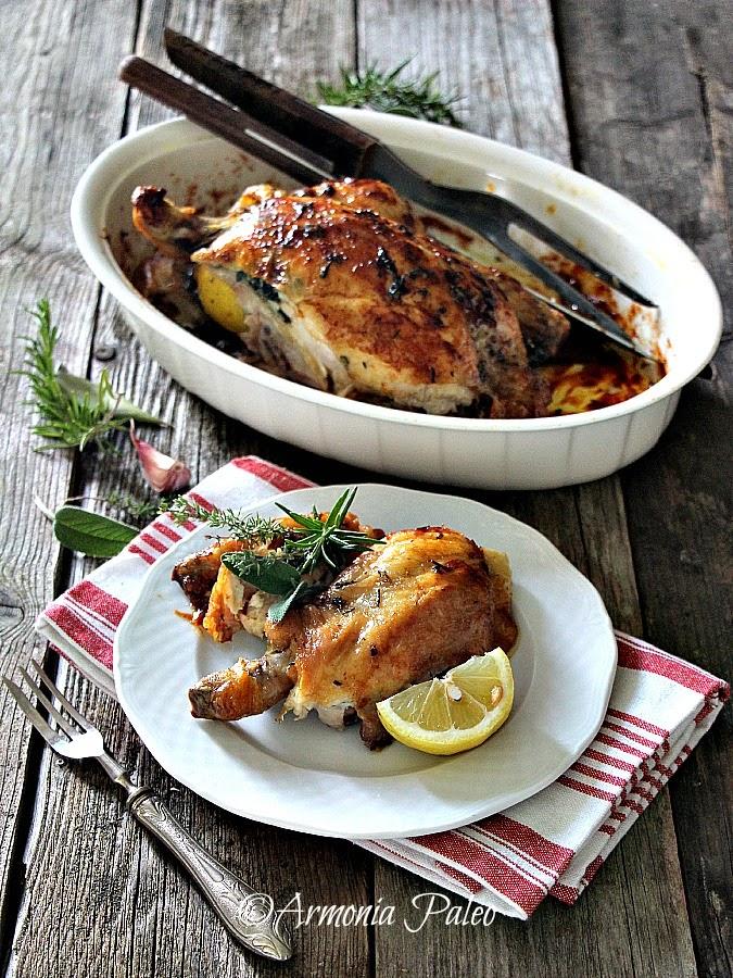 Pollo Arrosto di Armonia Paleo