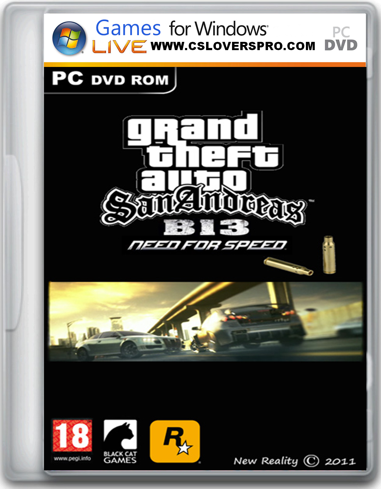 Grand Theft Auto San Andreas B13 Need For Speed Edition