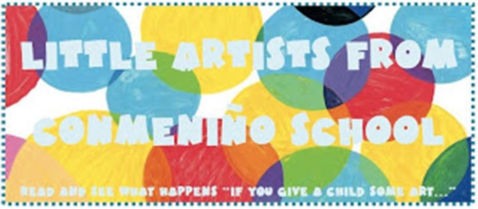 LITTLE ARTISTS IN CONMENIÑO SCHOOL