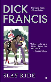 Slayride (published in 1973) - By Dick Francis, investigating a disappearing English Jockey in Norway