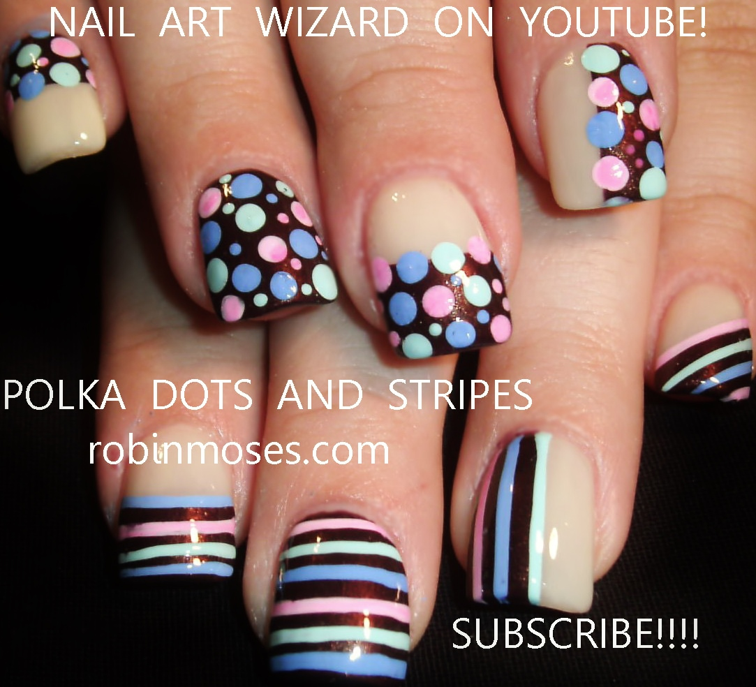 Robin Moses Nail Art February 2015: Robin Moses Nail Art: Rockabilly Nail Art! Dive Into The