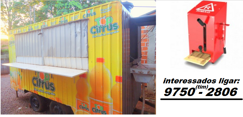 Vende-se trailer de lanche e uma máquina de fazer chinelos nova - Valores a combinar