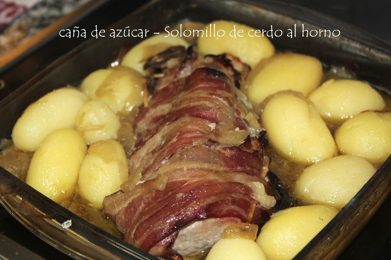 Perfect Solomillo De Cerdo Al Horno