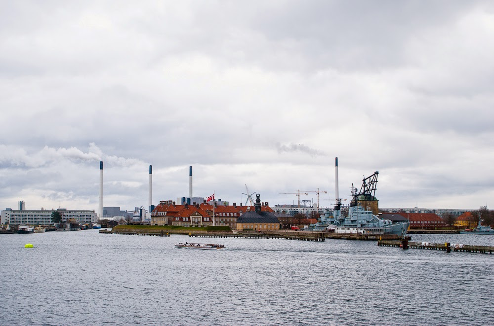 scenery and landscape from the copenhagen harbour