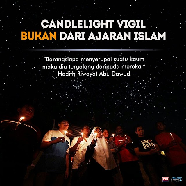 Hukum Orang Islam Bakar Lilin!
