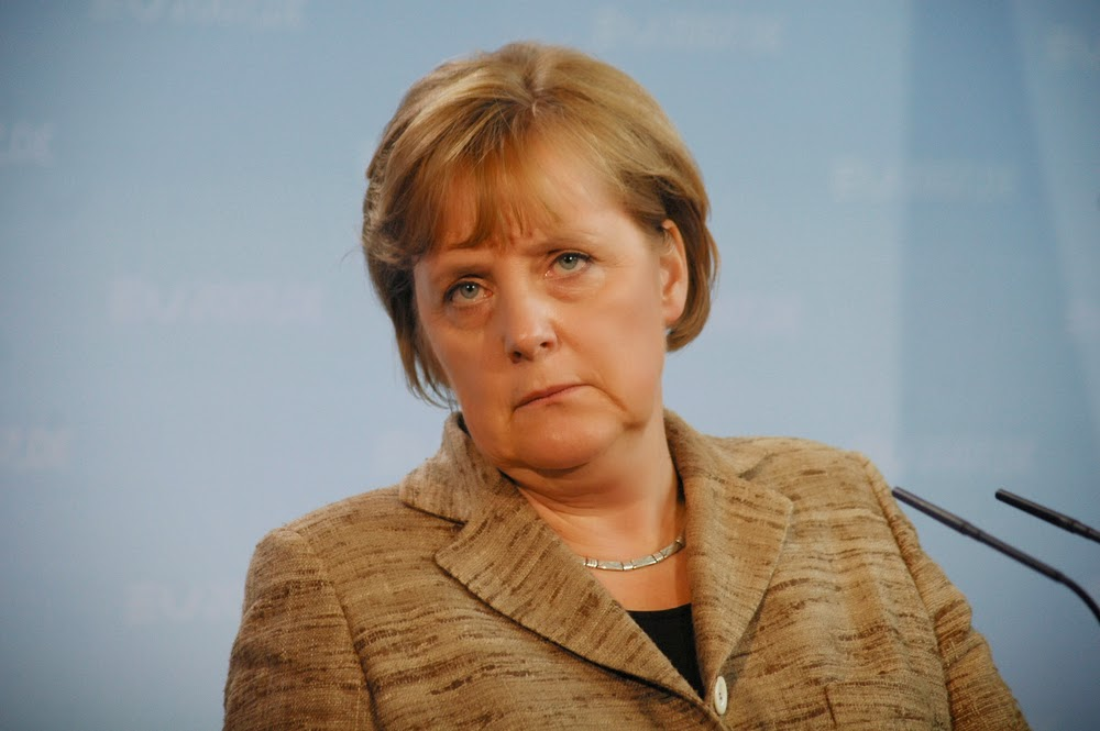 Vorwurfsvoll: Angela Merkel (CDU)