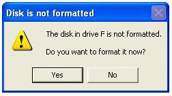 cara memperbaiki flashdisk yang tidak bisa diformat