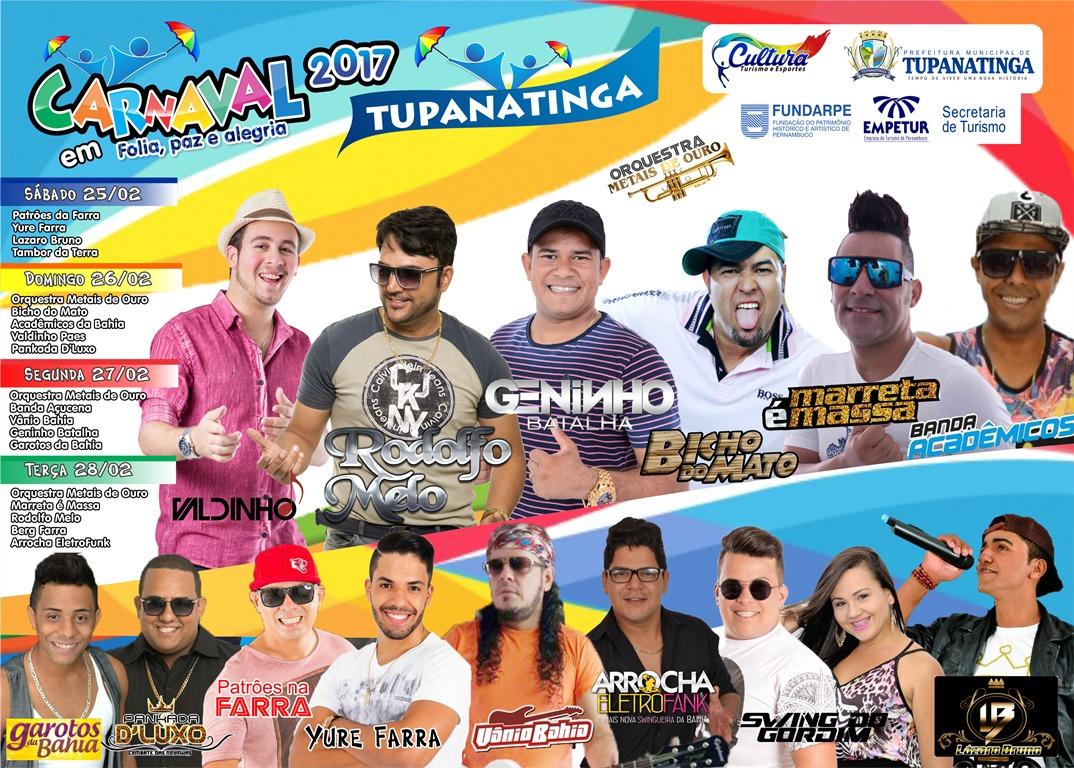 Tupanatinga Carnaval  2017