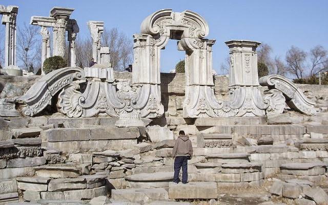 Ruínas do Palácio de Verão de Chengde