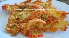 resep praktis dan mudah membuat (memasak) makanan gimbal udang spesial gurih, enak, lezat