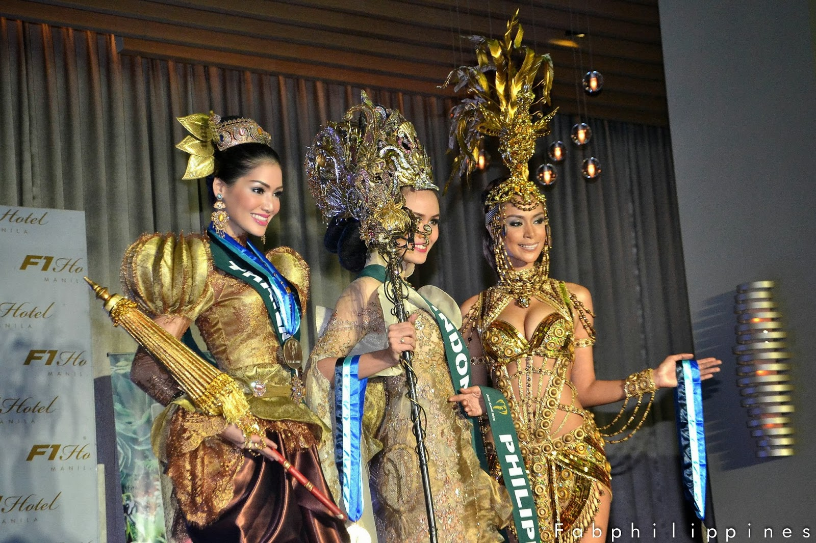Miss Earth 2013 National Costume Winners Asia