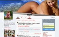 České amatérky ukazují svá velká prsa a píči při šukání