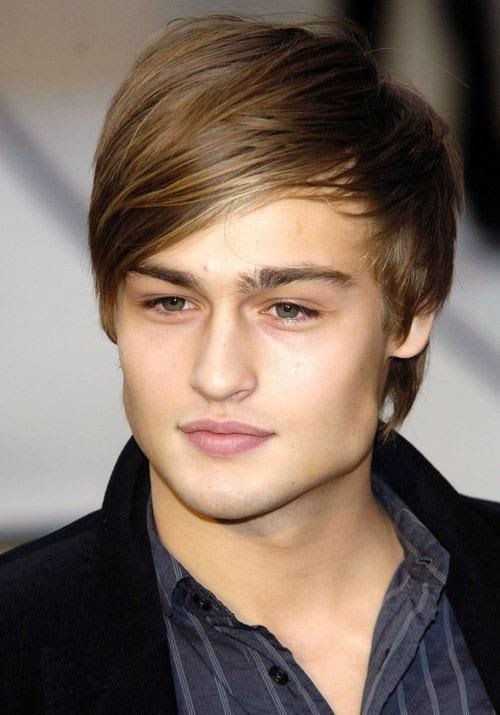 British Model Douglas Booth Young Images