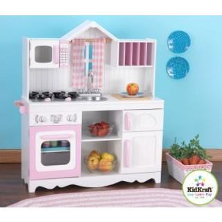 Kids Kitchens: KidKraft Modern Country Kitchen