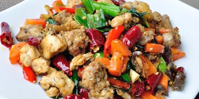 resep ayam tauco pelangi