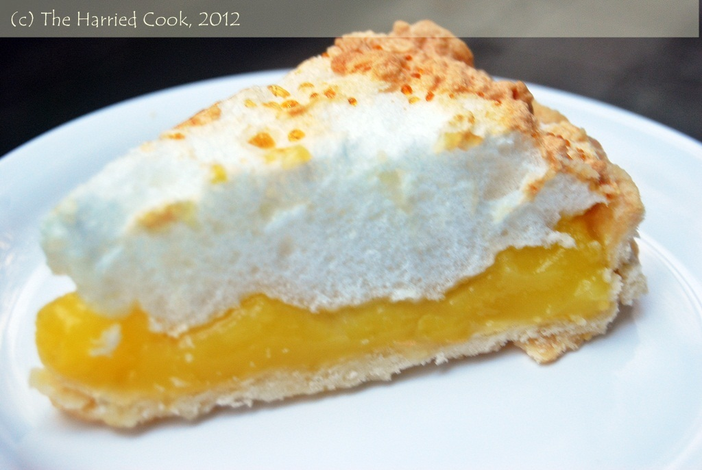 The Harried Cook: Lemon-Lime Meringue Pie