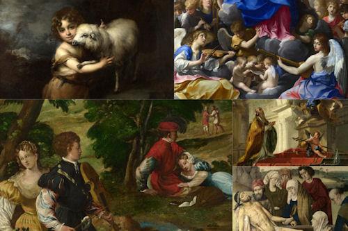 Imágenes, frescos y pinturas católicas V (5 archivos)