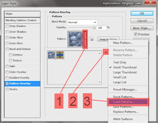 Cara memasang brush dan pattern ke photoshop3
