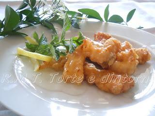 pollo al limone e vaniglia, piatto della cucina orientale