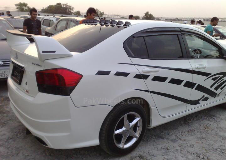 Modified honda city in sialkot  Sport Cars