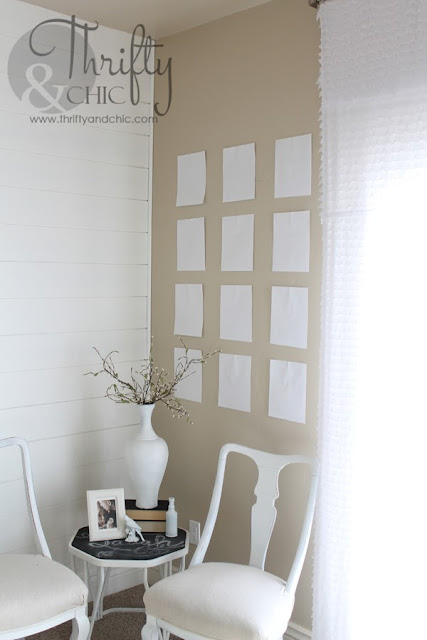 Simple gallery wall how to