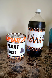 Rootbeer float diy Father's Day gift ideas