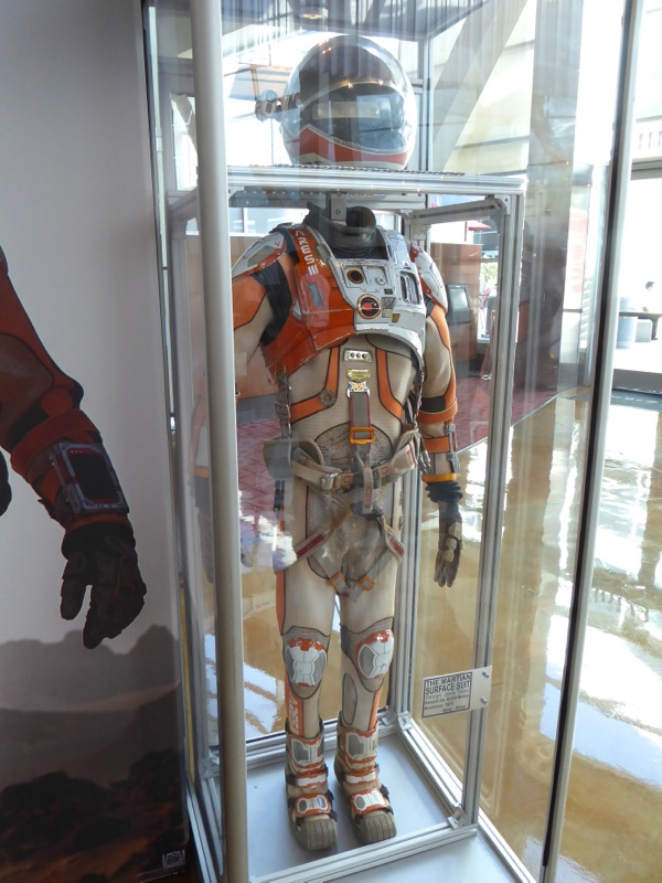 The Martian astronaut movie costume
