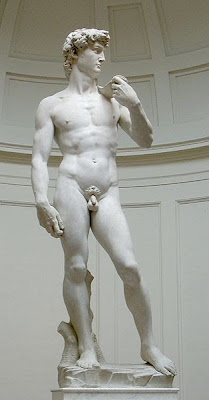 Simpsons Michelangelo's David Nude not covered up penis