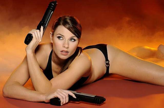 Sexy new Lara Croft model