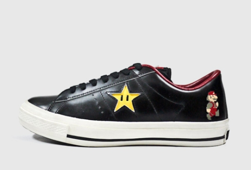 Zapatillas Converse de Mario Bros