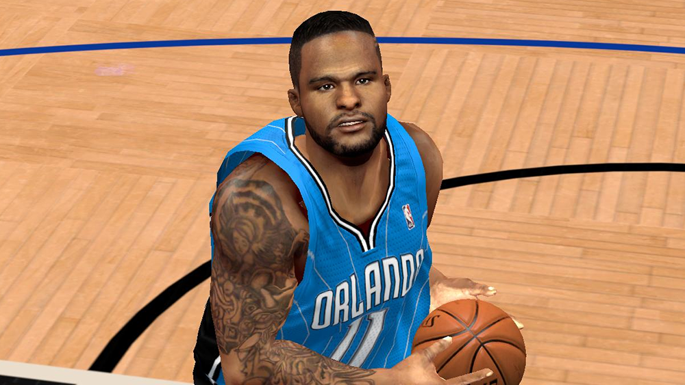 NBA 2K14 Glen Davis Cyberface Patch