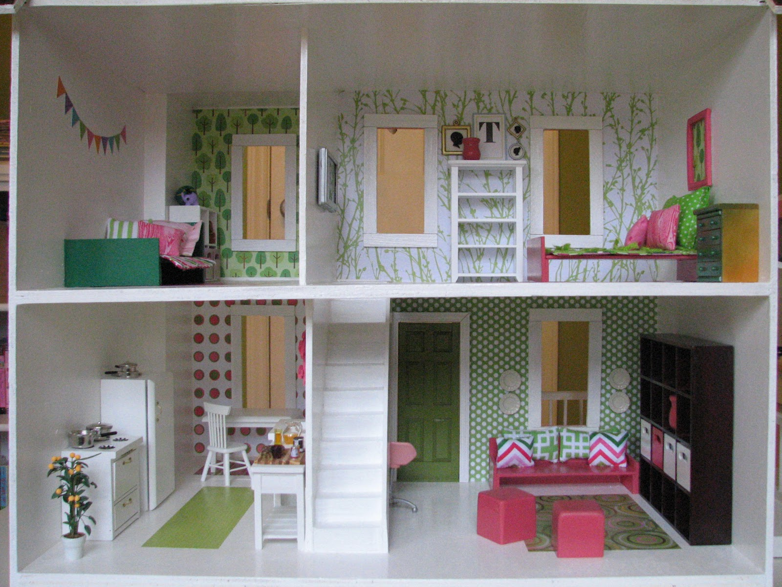 How To Make A Modern Doll House