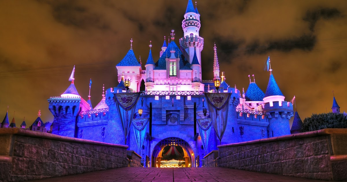 Sleeping beauty castle inside disneyland