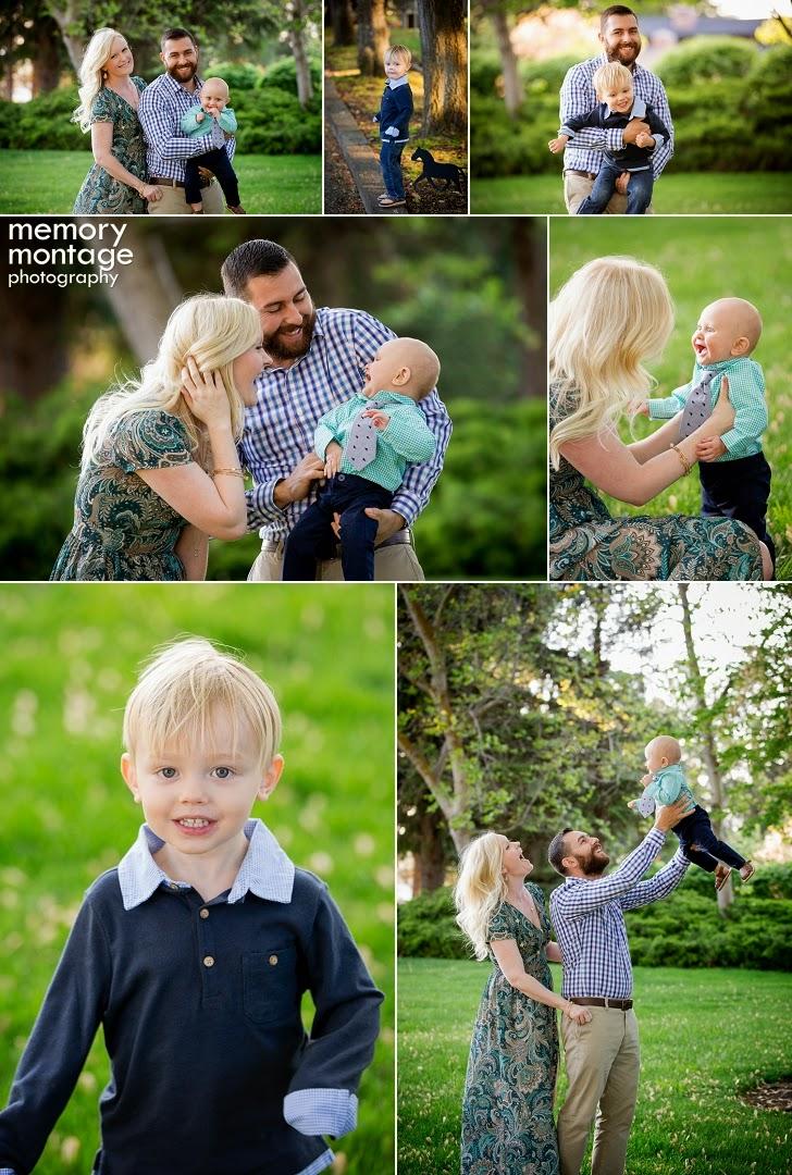 Yakima Family Photographers - Memory Montage Photography