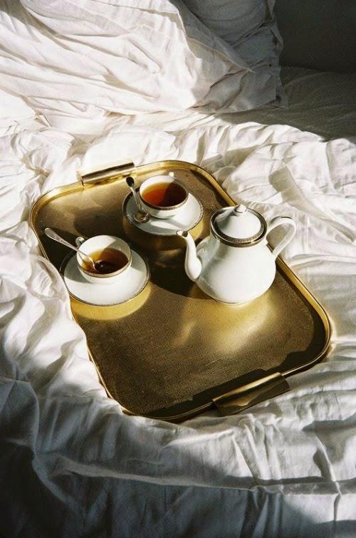 tea in bed