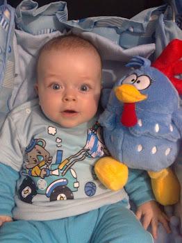 Samuel com seis meses