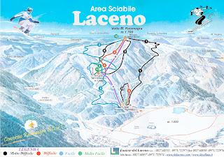 È bello sciare sulle piste del Laceno a Bagnoli Irpino