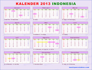 kalender Mesin Perforator MULTIFUNGSI. Read more  » 2013 Indonesia