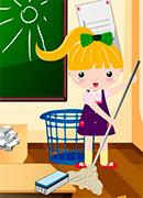Школа Уборка - Онлайн игра для девочек