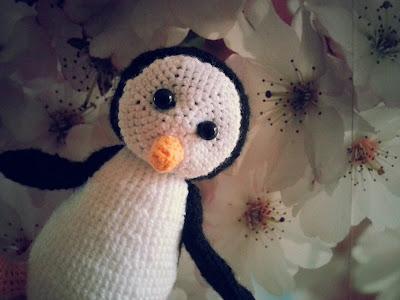 pingwin na szydełku
