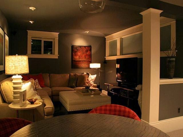 good paint colors for a dark basement