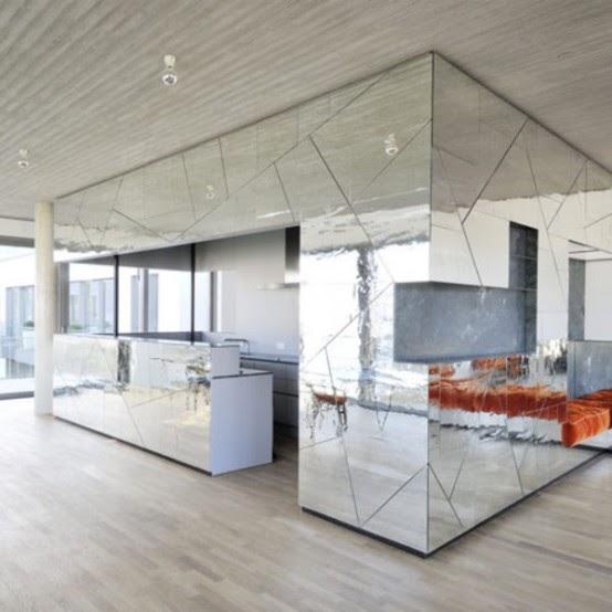 Paredes con espejos ideas para decorar dise ar y - Disenar tu casa ...