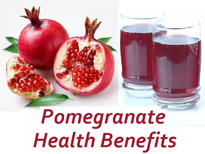 Amazing Health benefits of Pomegranate For Men & Women
