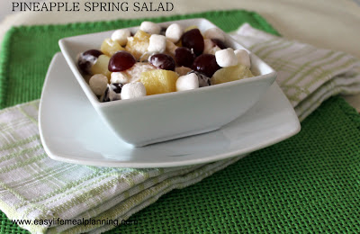 Pineapple Spring Salad - Easy Life Meal & Party Planning