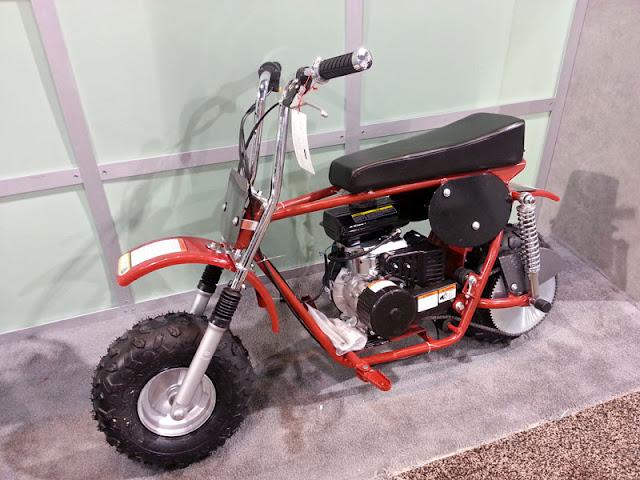 vintage style mini bike