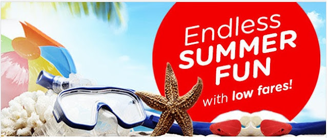 Air Asia Airlines: Endless Summer Fun with low fares! Base fare from PHP99