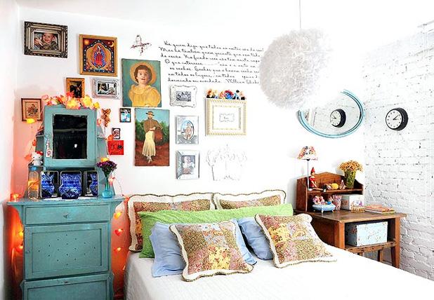 decoracao alternativa e barata para quarto: -PUXE A CADEIRA E SENTE! : Decoração Simples para Quartos de Casal